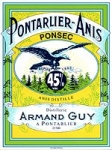 PONSEC PONTARLIER ANIS 50cl