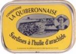LA QUIBERONNAISE: SARDINES ARACHIDE 1/6