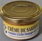 LA QUIBERONNAISE: CREME DE SARDINE 90g