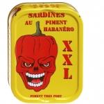 LA QUIBERONNAISE: SARDINES  XXL au piment Habanéro (hyper forte)