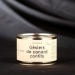 GESIERS DE CANARD CONFITS 5 PIECES 350G