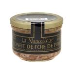 CONFIT DE FOIE DE PORC 190g