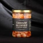 CASSOULET DE CANARD ET HARICOTS TARBAIS 740G
