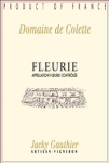 DOMAINE DE COLETTE FLEURIE 2015