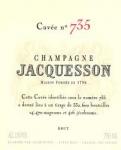 JACQUESSON N°735 Brut MAGNUM 150cl