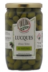 OLIVES LUCQUES VERTES 200g