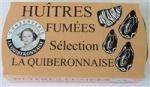 LA QUIBERONNAISE: HUITRES FUMEES 1/10