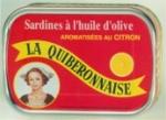 LA QUIBERONNAISE: SARDINES OLIVE CITRON 1/6