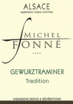 DOMAINE FONNE GEWURZTRAMINER TRADITION 2017