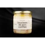 SAUCISSES CONFITES 400g