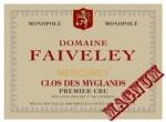 DOMAINE FAIVELEY 1er Cru LES MYGLANDS 2013 MAGNUM